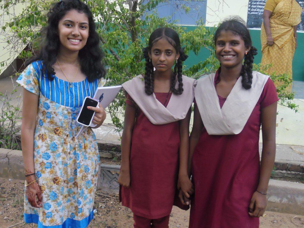 Anu Suppiah at Kalapur Girls High School Summer 2014